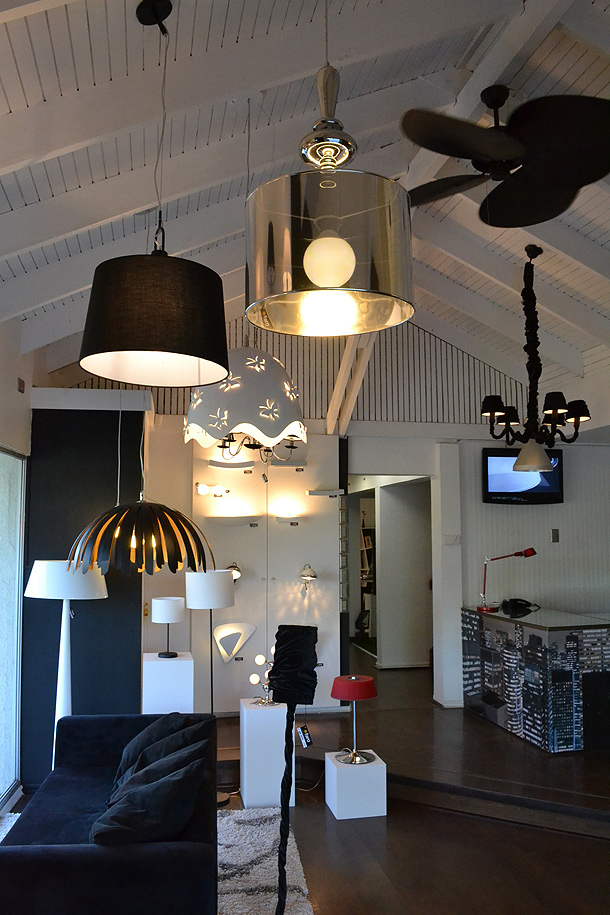 Nuevo showroom de l mparas faro en chile l mparas for Decoracion hogar santiago chile