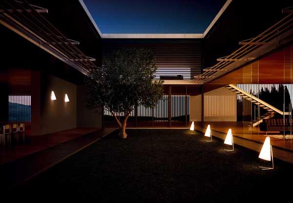 Iluminaci n exterior de dise o by estiluz l mparas iluminaci n y dise o - Iluminacion exterior ...