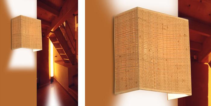 Prestigio artesanal rac ambient l mparas iluminaci n y dise o - Apliques de pared originales ...