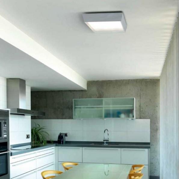 Iluminaci n estancias interior l mparas cocina - Focos pasillo ...