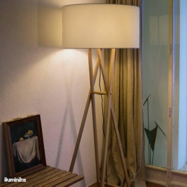 L mparas de pie de dise o revista casaviva l mparas - Iluminacion lamparas de pie ...