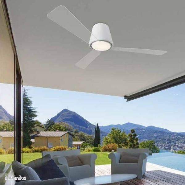 Decorative Ventiladores Con Motor Dc L Mparas