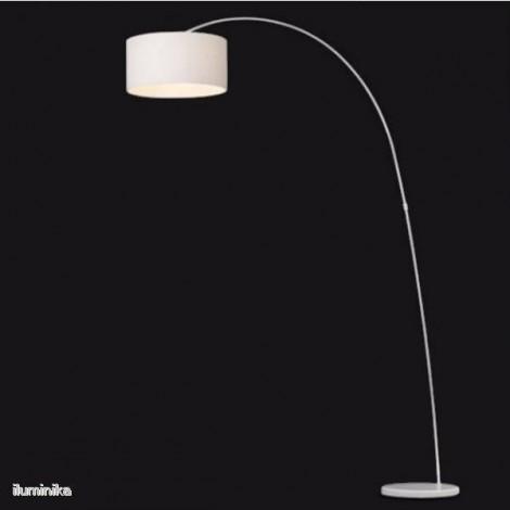 Lámpara de pie Papua Blanca
