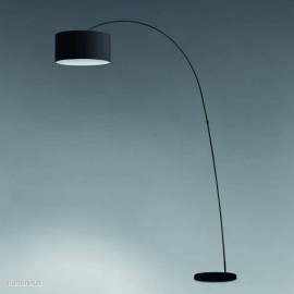 Lámpara de pie Papua Negra