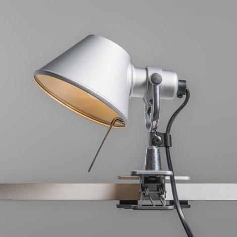 A010800 artemide, Aplique Tolomeo Micro Pinza Aluminio