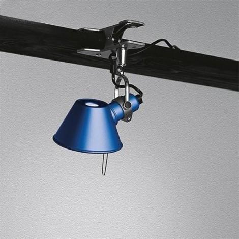 A010850 artemide, Aplique Tolomeo Micro Pinza Azul