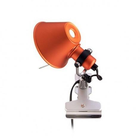 Aplique Micro Pinza Naranja