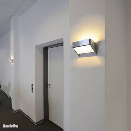 Aplique Led Dacu Space Aluminio.