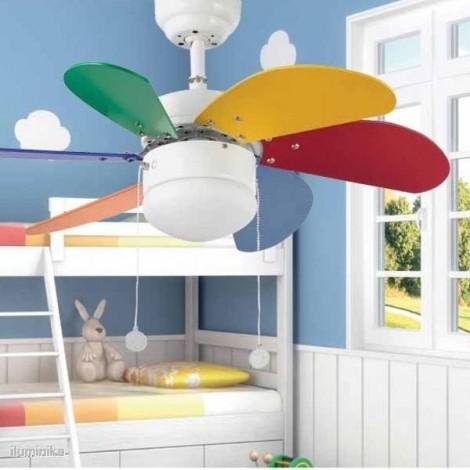 Ventilador Palao Multicolor