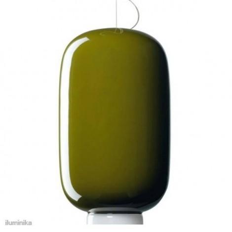 Lámpara Colgante Chouchin 2 Verde, 210072 40 Foscarini