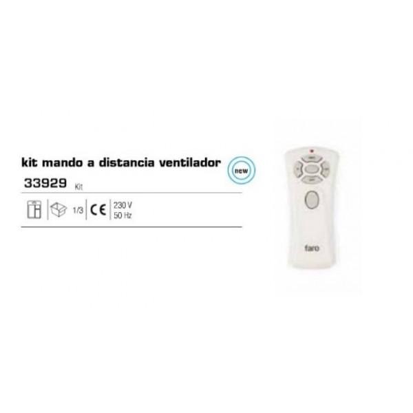 Kit mando a distancia ventilador dimer onoff de faro - Ventilador de techo mando a distancia ...