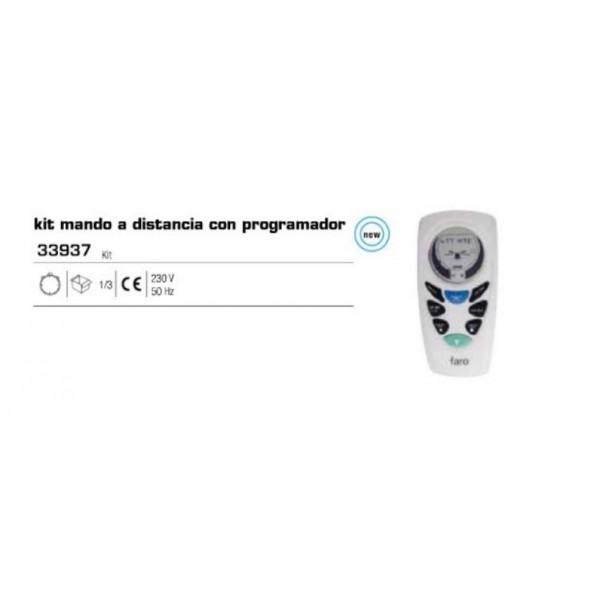 Kit mando a distancia ventilador con programador de faro - Ventiladores con mando a distancia ...