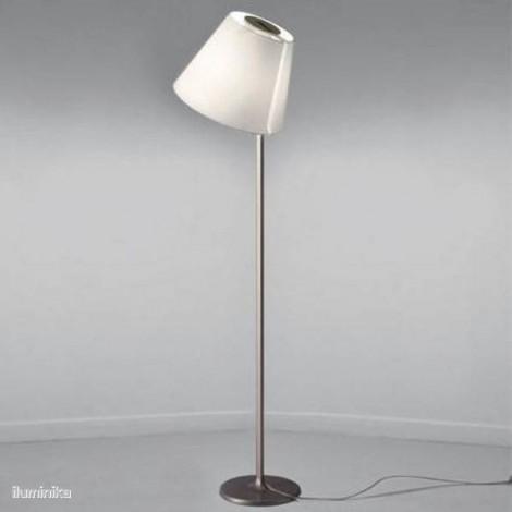 0577010A, Lámpara de pie Melampo Mega Terra Gris Aluminio Artemide