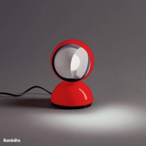 0028030A, Lámpara Sobremesa Eclisse Rojo Artemide
