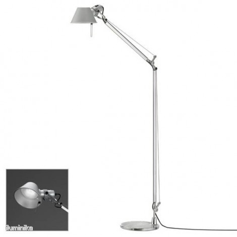 A013100+A014900, Lámpara de pie Tolomeo Lettura Led, de Artemide