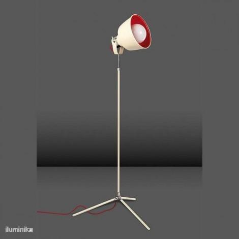 Lámpara de pie MAGMA VINTAGE BLANCO ANTIGUO, 25-0240-21-16 Leds-C4