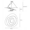 Lámpara Colgante Pirce Halógena, 1239010A Artemide