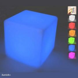 Cubo luminoso Cuby 53 Batería+Solar RGB