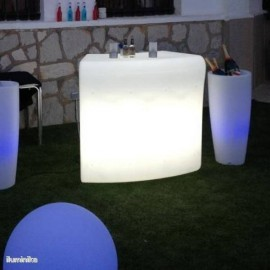 Barra de Bar iluminada Ibiza Light