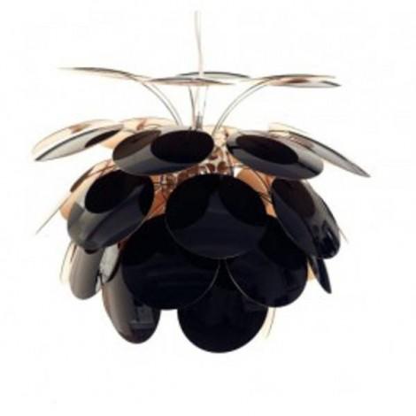 Colgante Discoco 132 Negro-Oro