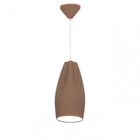 Lámpara Colgante Pleat Box 13 Marrón/Blanco Marset