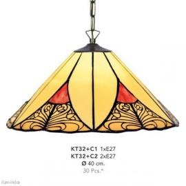 Lámpara Colgante Tiffany KT32 + C1
