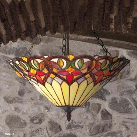 Lámpara Colgante Tiffany COT14 + C3