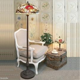 Lámpara de pie Tiffany YT26 + FBB75