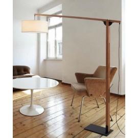 Lámpara de pie Mastil