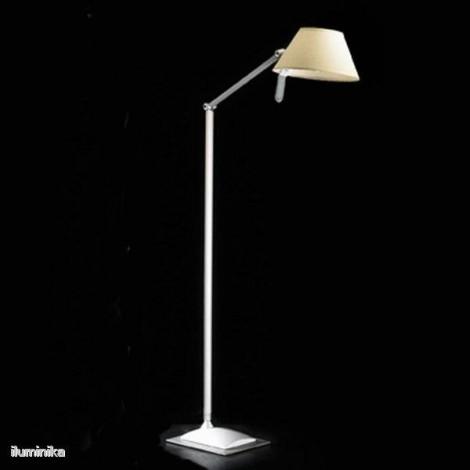 Lámpara de pie Petite P12 Blanca