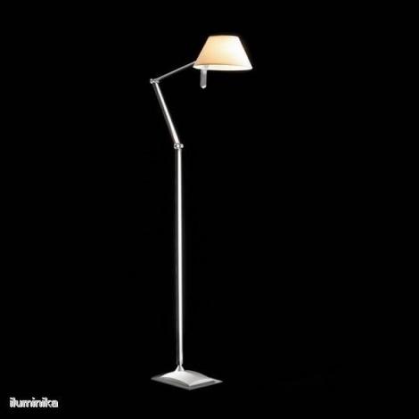 Lámpara de pie Petite P22 Blanca