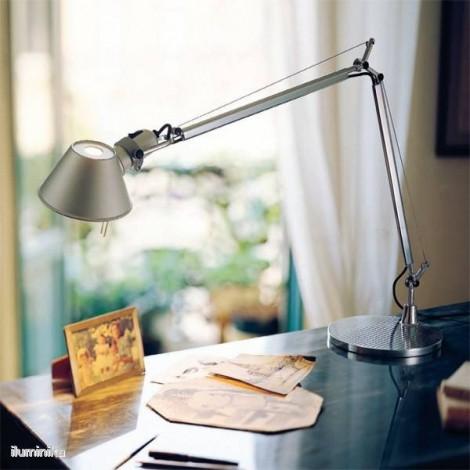 A001000+A004030, Lámpara Sobremesa Tolomeo Aluminio Artemide
