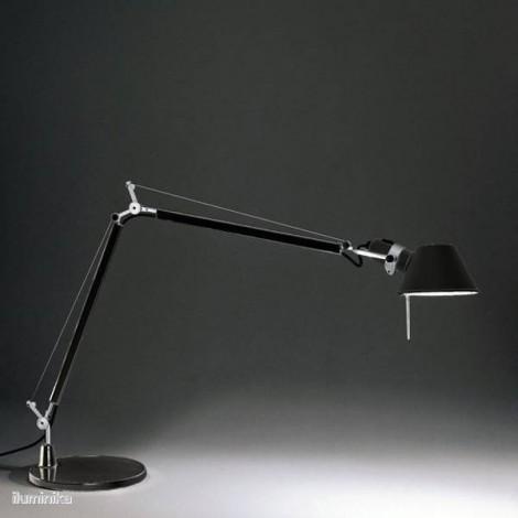 A004430+A005330, Lámpara Sobremesa Tolomeo Negro Artemide