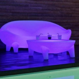 Sofa iluminado Jamaica Batería+Solar RGB