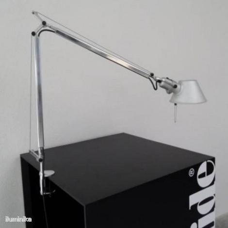 Sobremesa Tolomeo LED Aluminio Mordaza