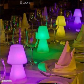Sobremesa LOLA 20 LED Wireless