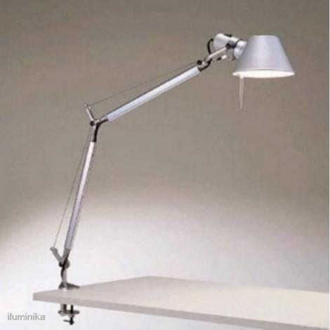 A004800+A004100, Sobremesa Tolomeo LED Aluminio Mordaza Artemide