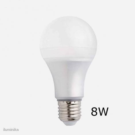 BOMBILLA FARO E27 ESFÉRICA LED 8W 2700K 640Lm
