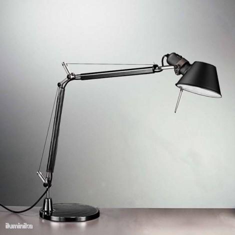A005940+A008610, Lámpara Sobremesa Tolomeo Mini Negro Artemide