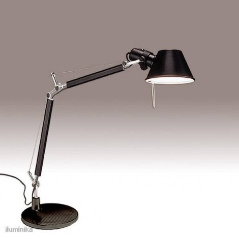 A011830, Lámpara Sobremesa Tolomeo Micro Negro Artemide