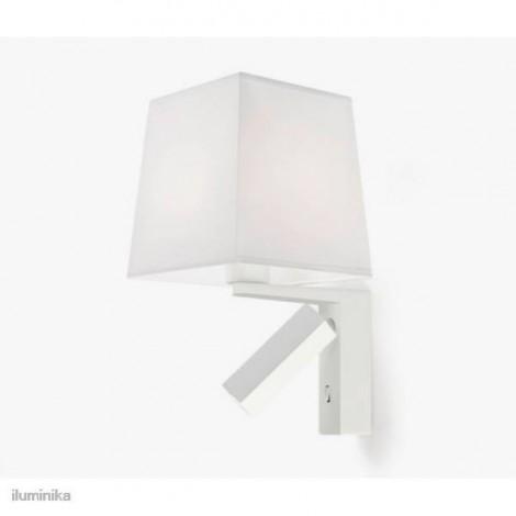 Aplique con Lector LED HALL Blanco, Grok