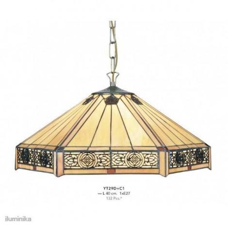Lámpara Colgante Tiffany YT29D+C1