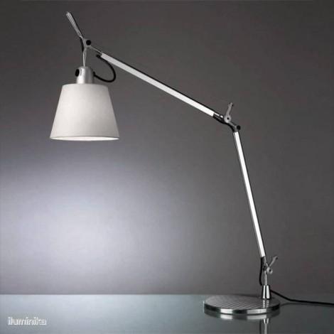 0947020A+A004030, Lámpara Sobremesa Tolomeo Basculante Raso Artemide
