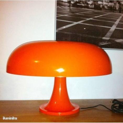 0056050A, Lámpara Sobremesa Nesso Naranja Artemide