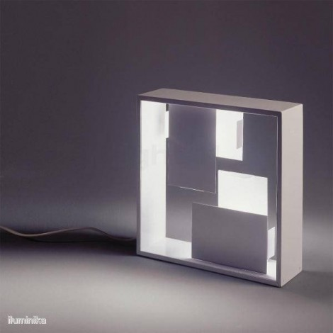 0048010A, Lámpara Sobremesa Fato Blanco Artemide
