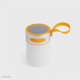 LOUD LED Lámpara portátil con altavoz