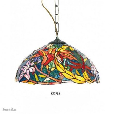 Lámpara Colgante Tiffany KT2753+C1