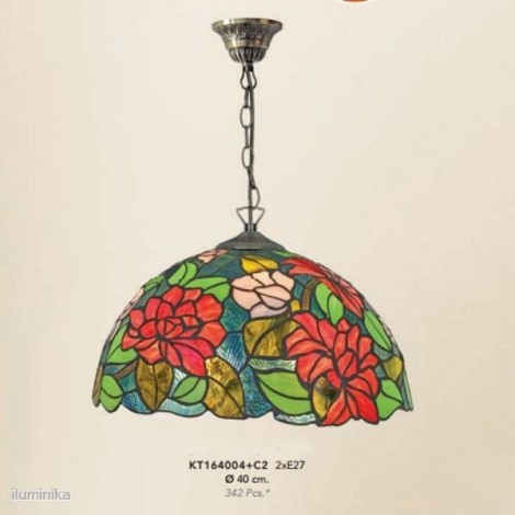 Lámpara Colgante Tiffany KT164004+C2