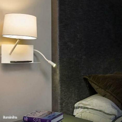Aplique Handy con lector LED izquierda (usb)