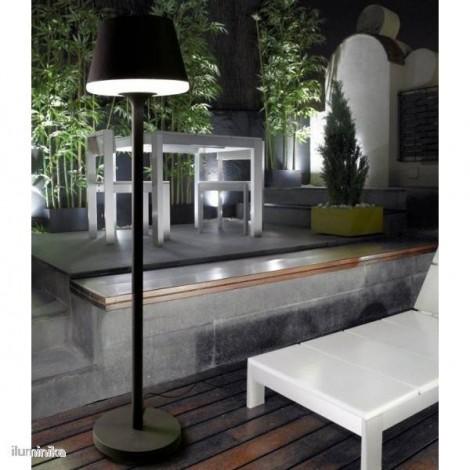 25-9503-Z5-M1 Ledsc-4, Lámpara de Pie Moonlight Gris Urbano